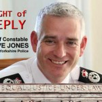 Chief Constable Dave JONES NYP responds
