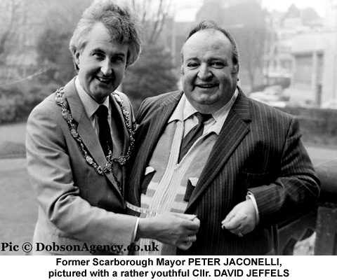 Councillor David Jeffels and Peter Jaconelli.