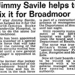 Jimmy Savile and the NHS