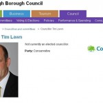 SBC: Cllr Tim Lawn Resigns