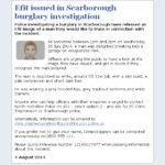 NYP publishes Efit image of burglary suspect