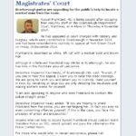 NYP Seek Scarborough Court Escapee