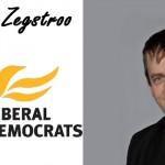 """JOHAN ZEGSTROO [LibDem]: """"Stronger Economy. Fairer Society"""""""