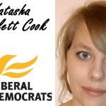 """NATASHA BARTLETT COOK [LibDem]: """"I Am The Change!"""""""