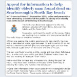 NYP: Appeal re Dead Man On Scarborough's North Bay Beach