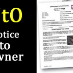 """Notice to Owner (NtO)"" – Notice to Registered Keeper!"