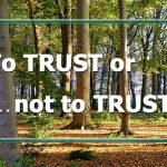 """To Trust Or . . ."""