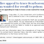 NYP: Appeal To Trace Scarborough Man For Prison Recall