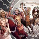 """The Four Horsewomen Of The Apocalypse?"""