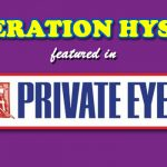 Operation Hyson Featured In 'Private Eye'
