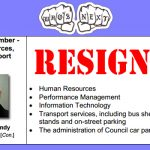 Cllr BACKHOUSE Resigns from the SBC Cabinet