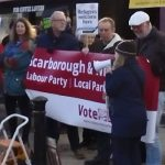 Scarborough Labour Protest Trump