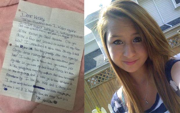 Amanda todd suicide