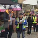 Labour Activists Threaten Violence