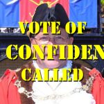 'NO CONFIDENCE' Vote Called Against Mayor Joe PLANT