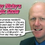"""Trick Nicky's Magic Show"""
