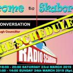 'Welcome to Skaborough' – RE-SCHEDULED