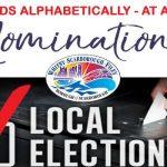 SBC May 2019 Local Election Candidates