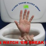 """Flush Those Blues Away"""""