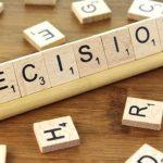 """Decisions, Decisions"""