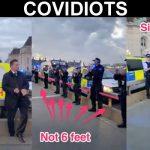 COVIDIOTS: NY Police Essential Duties #6