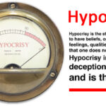 The Rise and Rise of Hypocrisy